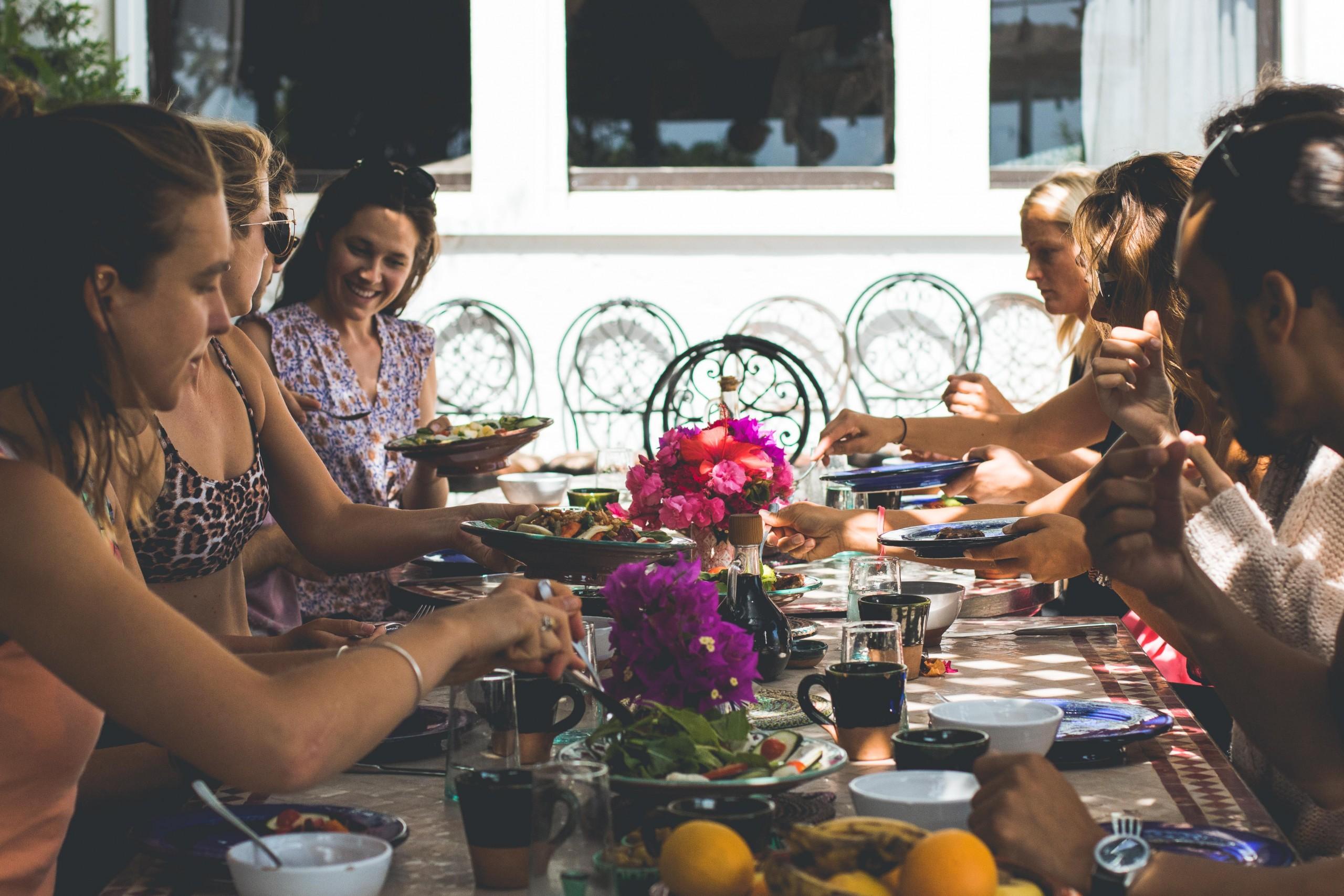 villa mandala - breakfast -surf maroc