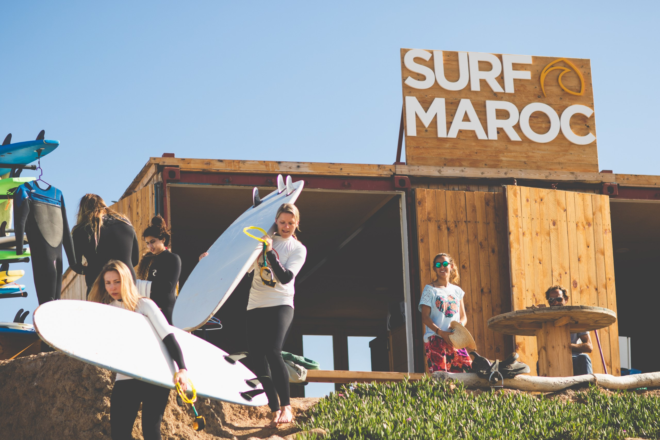 surf lesson - surf maroc