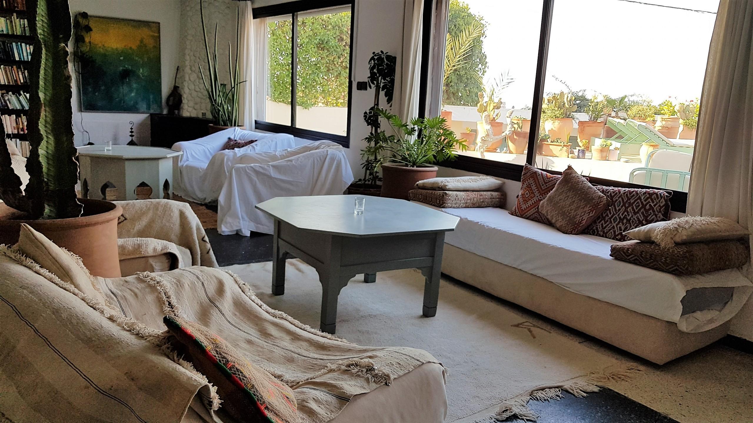 Sitting Room - Surf Maroc - Villa Mandala