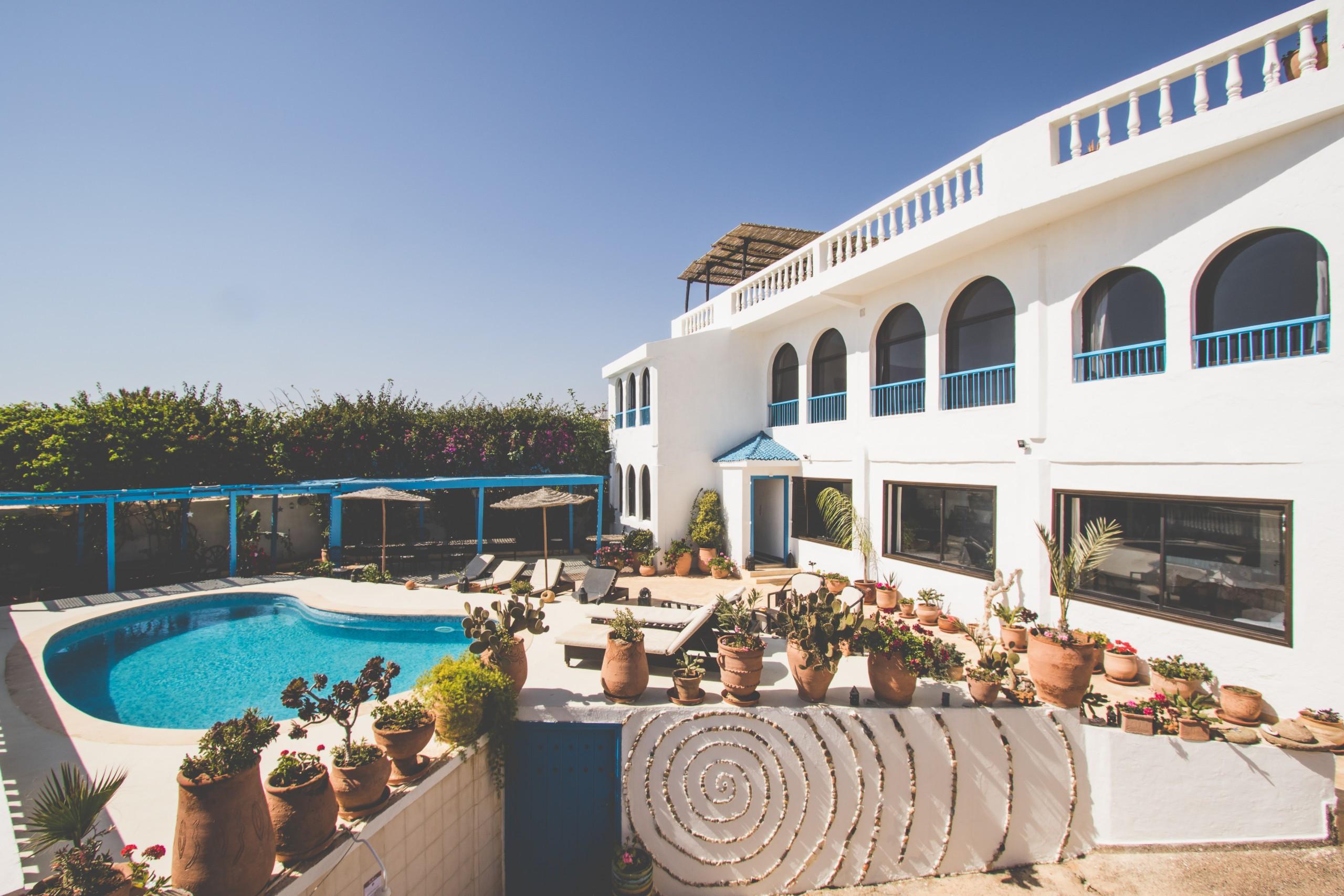 villa mandala - front view