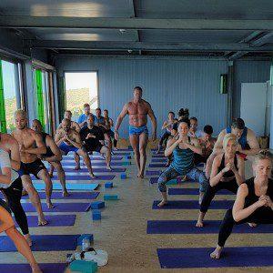 fitness week broga surfmaroc