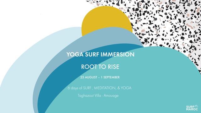 Yoga surf immersion surf maroc