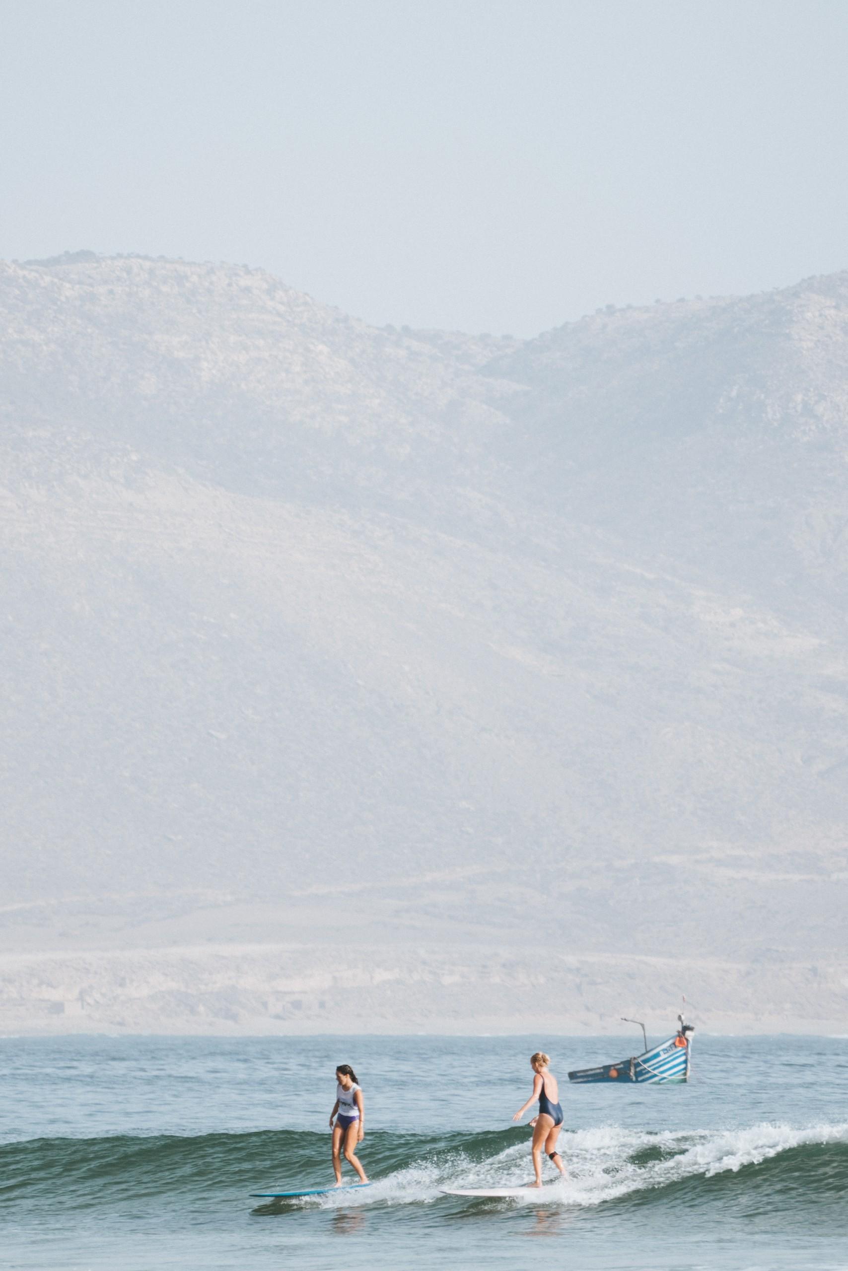 Imsouane longbaord surf maroc summer