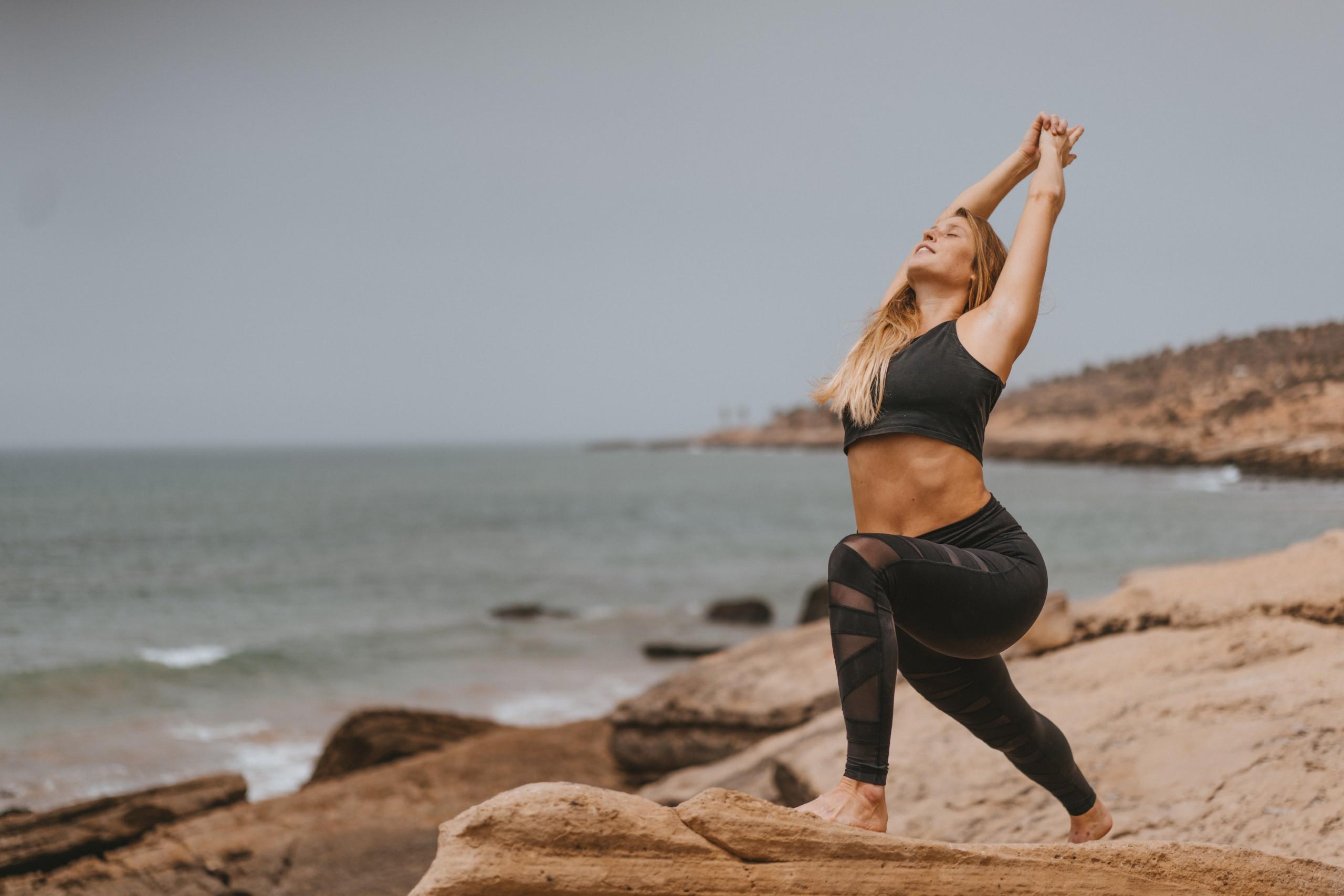 Haley Surf maroc yoga