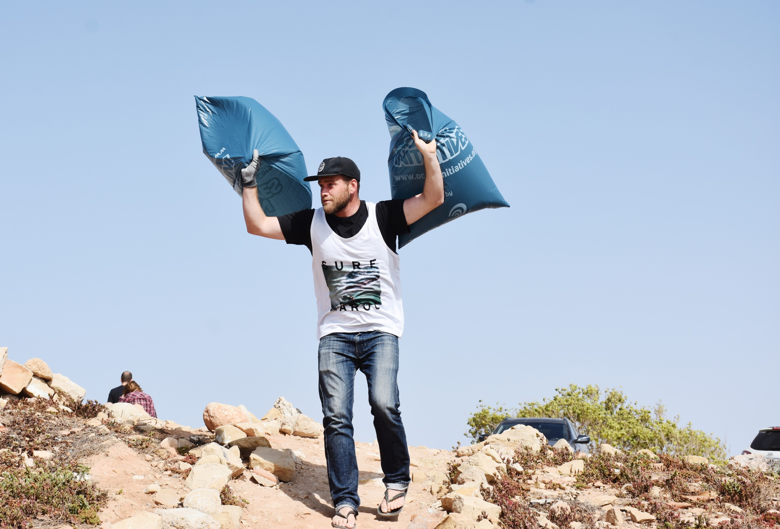Beach Clean Surf Maroc Taghazout