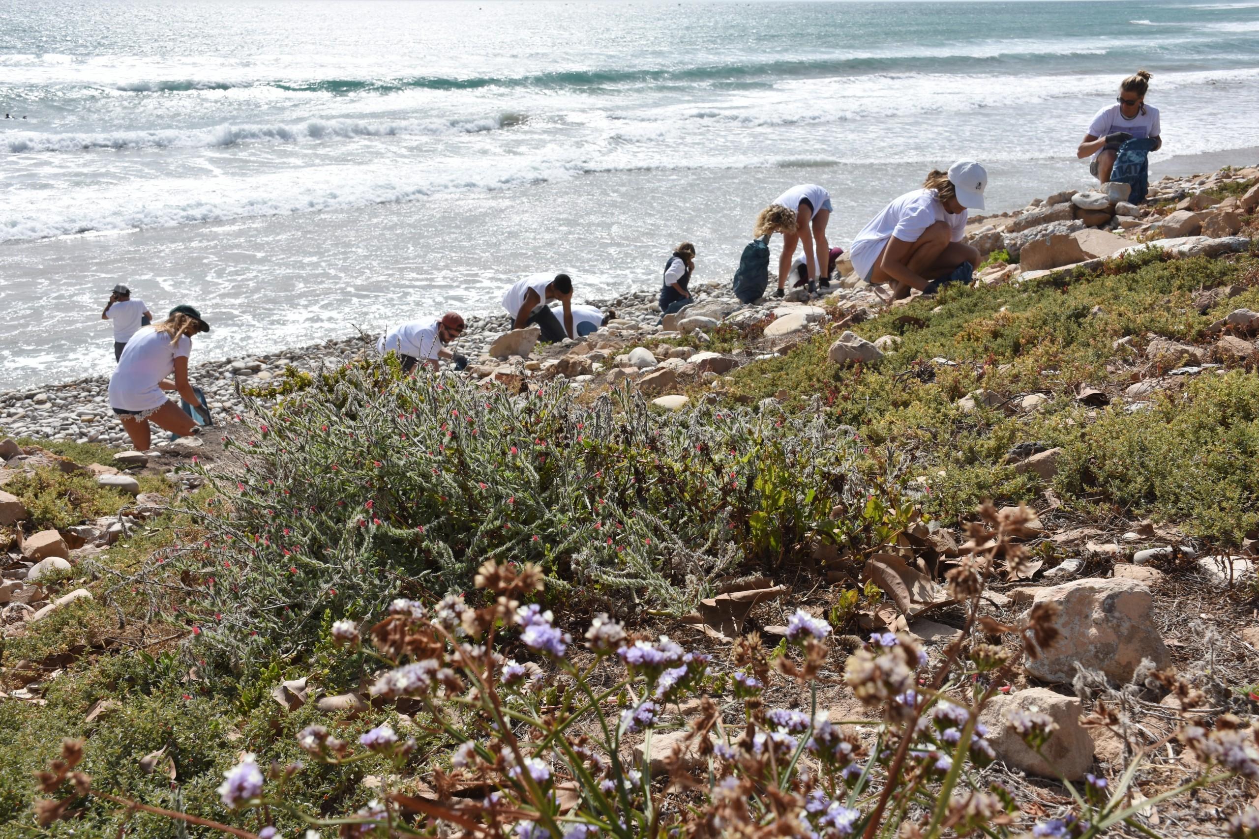 Beach Clean Taghazout Surf Maroc