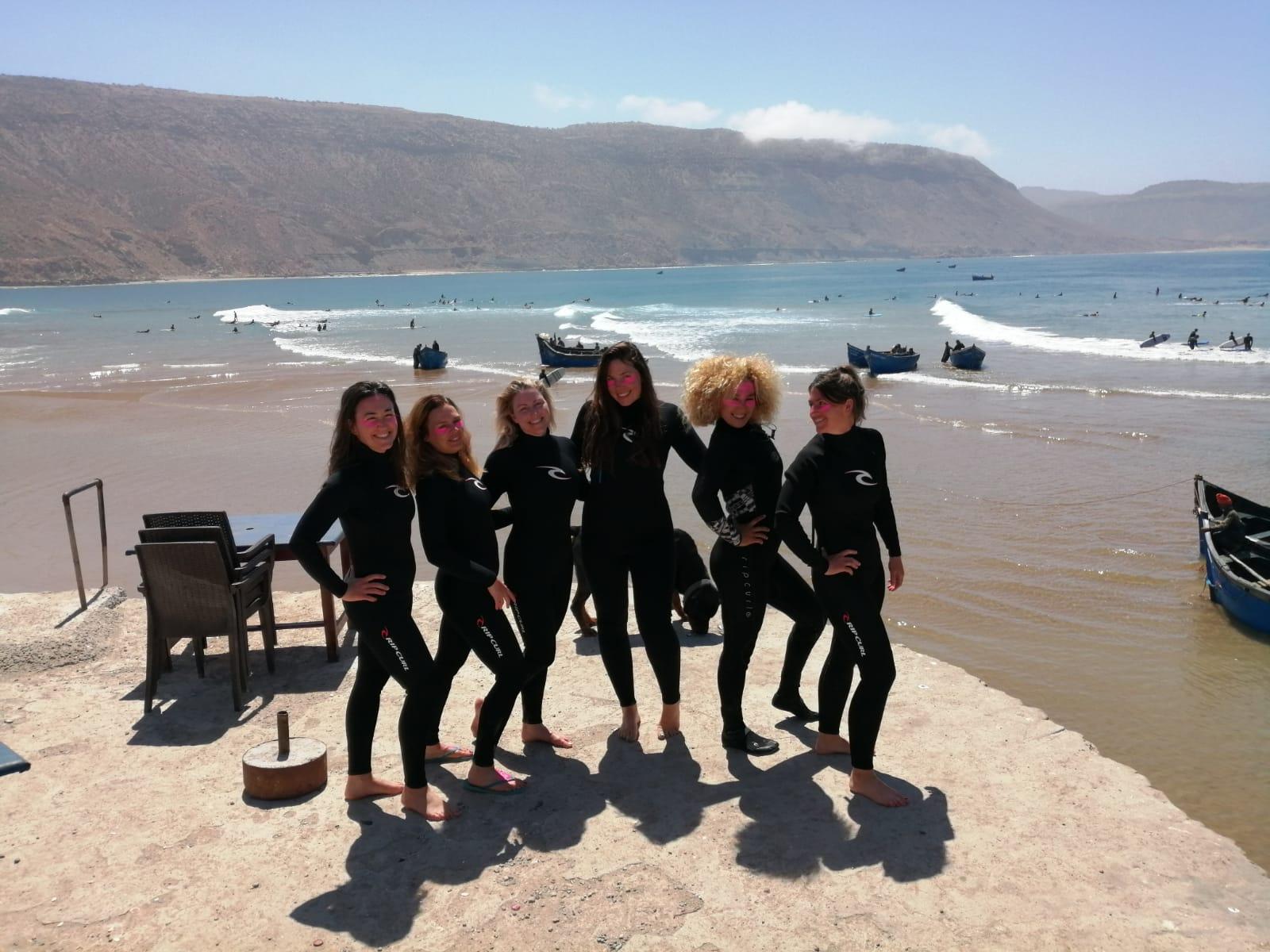 Surf Maroc Fitness Week Steffi