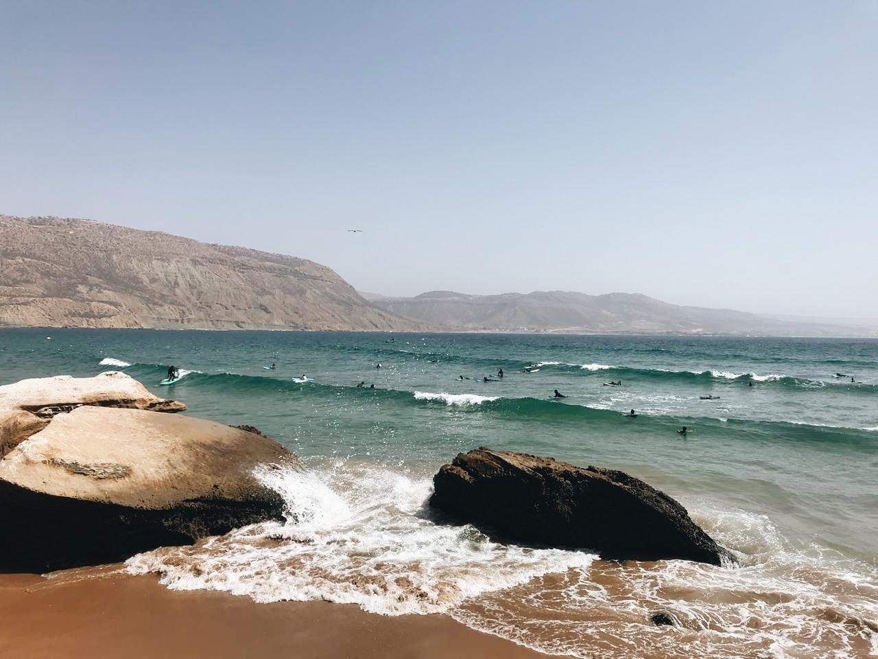 Summer swell imsouane surf maroc