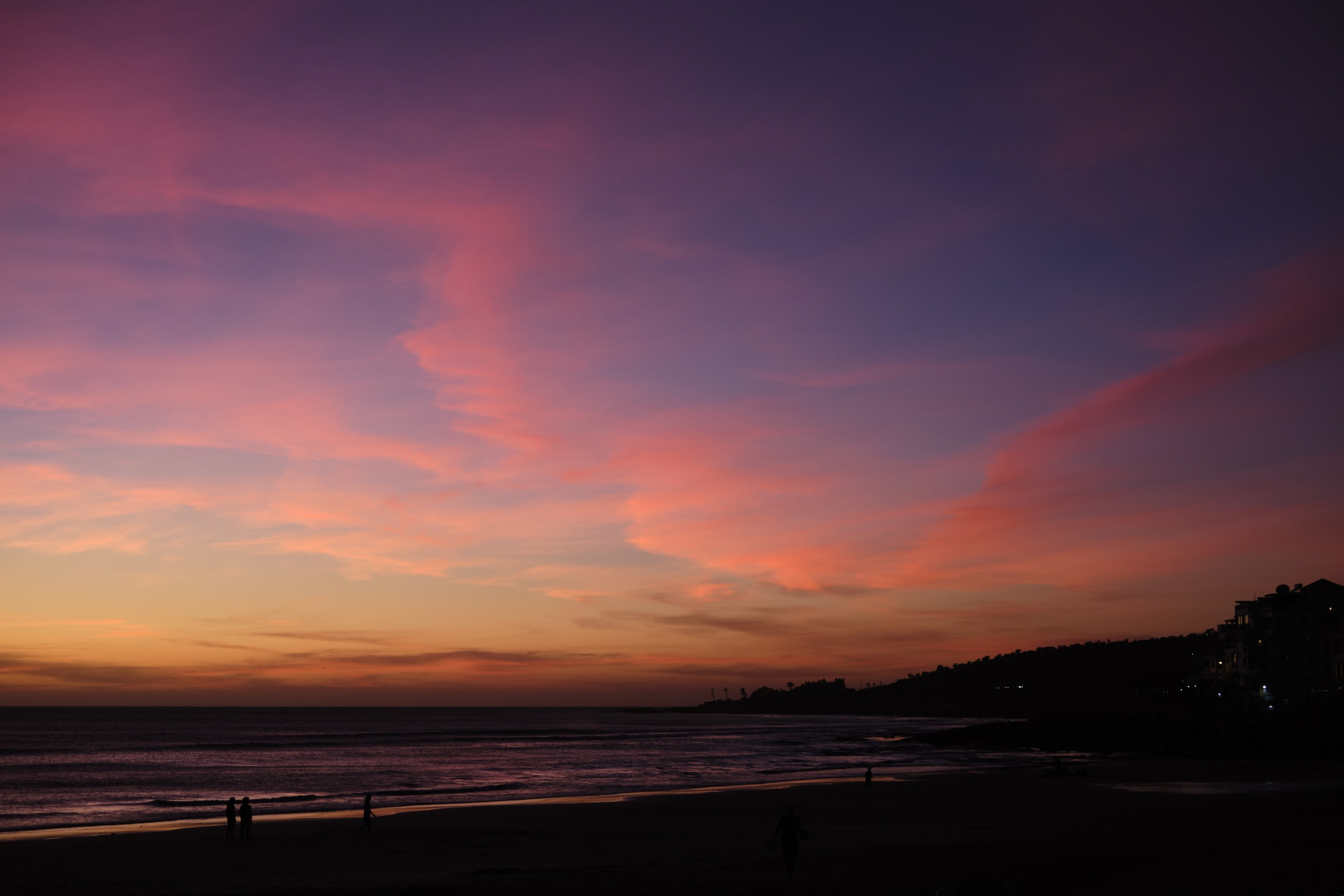 surf maroc sunset