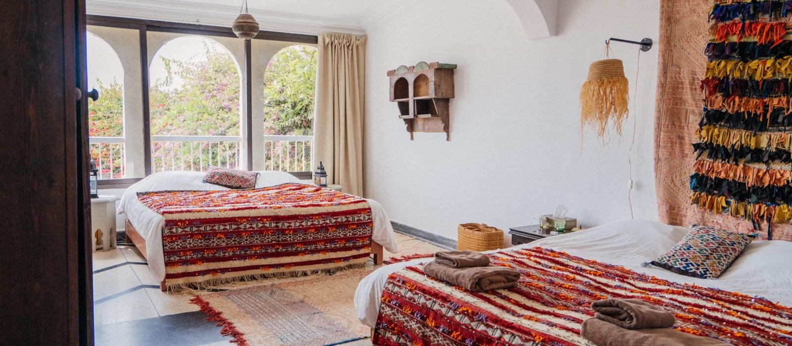 Red Room - Villa Mandala - Surf Maroc