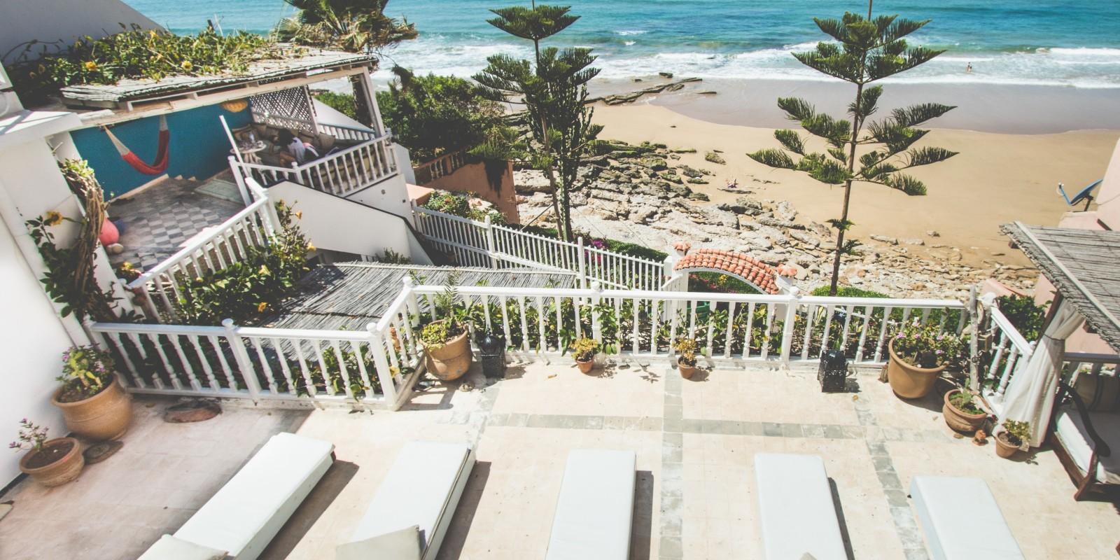 taghazout villa surf maroc